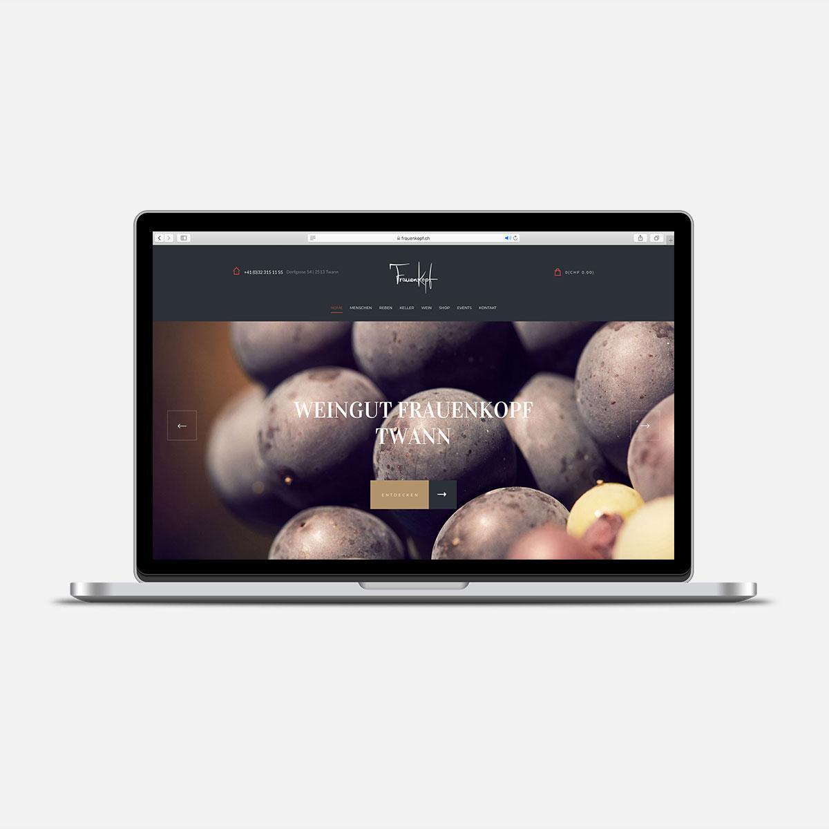 Webdesign | Screendesign | UX Designer | Bern